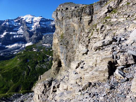 Ostseitige Gipfelwand