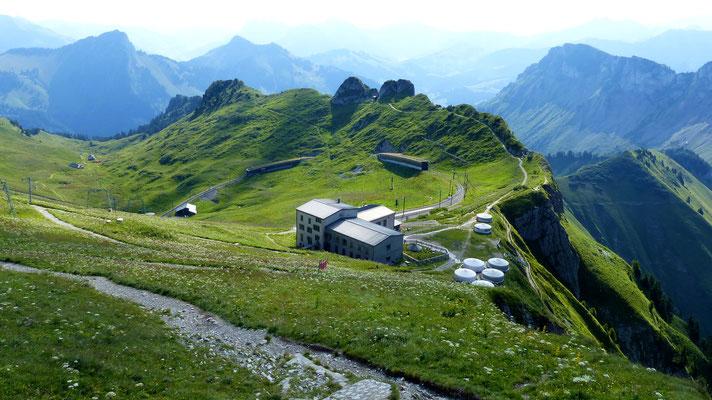 Rochers de Naye-Bergstation