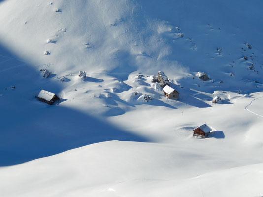 Gipfelblick - Obere Hüethütten