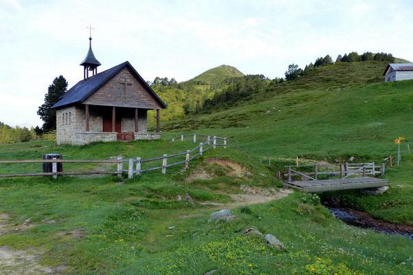 Kapelle bei Ober Sewen - 1713 M