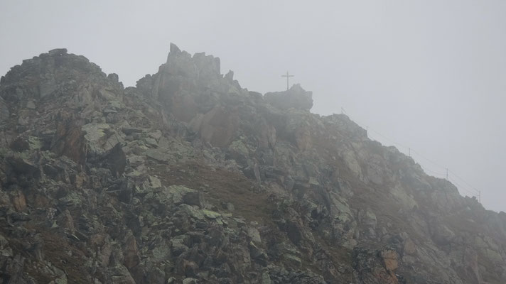 Risihorn-Gipfelaufbau