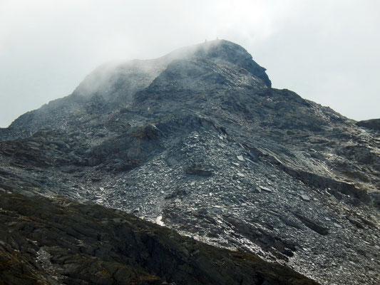 Gipfelzone des Grünberghorn - 3074 M