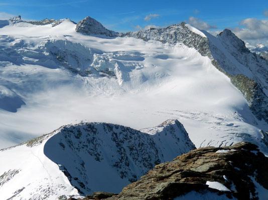 Gipfelblick - Pointe de Bricola 3658 M