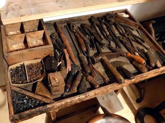 Schuh- und Leistenwerkzeuge