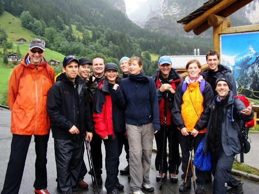 Gruppenbild - Grindelwald 1202 M