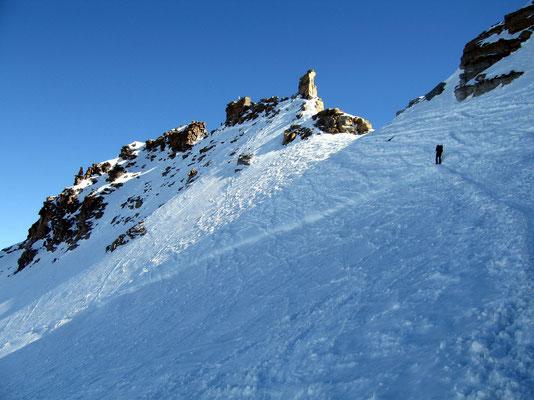 Gipfelaufbau des Gran Paradiso