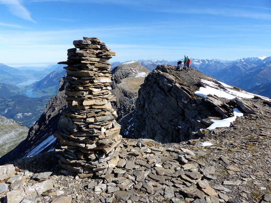 Am Gipfel des Wildgärst - 2891 M