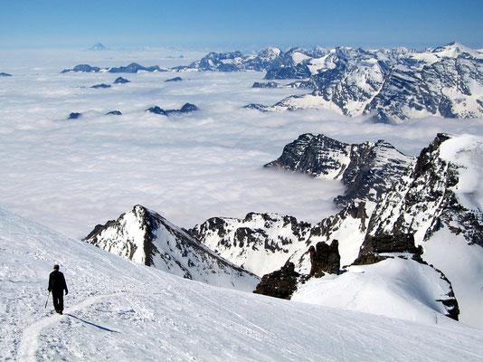 Abstieg - Ca. 4000 M
