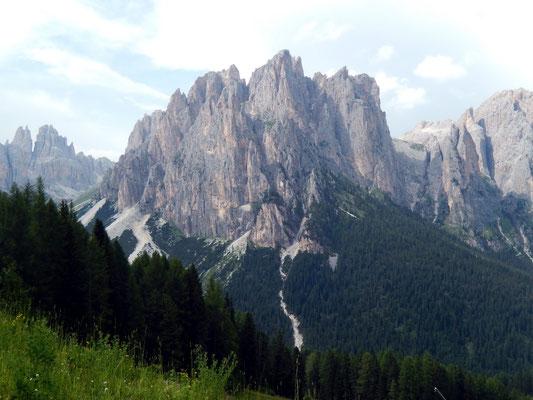 Dirupi di Larsech mit Pala di Mesdi und Gran Cront