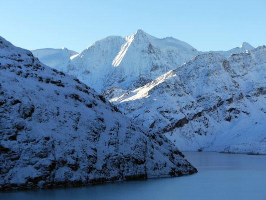 Mont Blanc de Cheilon im Morgenlicht - 3870 M