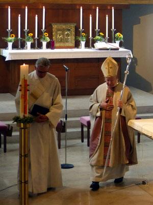 Auszug des Bischofs
