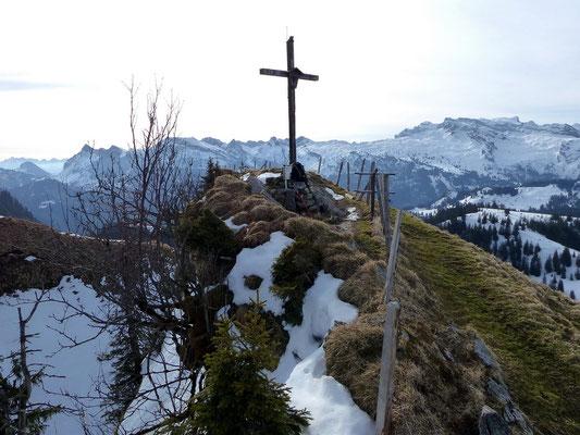 Chli Aubrig-Gipfel - 1642 M