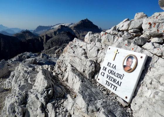 Gipfelblick nach Süd - Marmolada, Sella