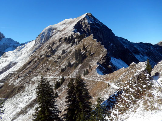 Gipfelblick - Le Grammont 2172 M