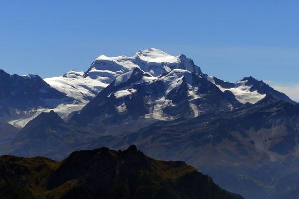Gipfelblick - Grand Combin, 4314 M