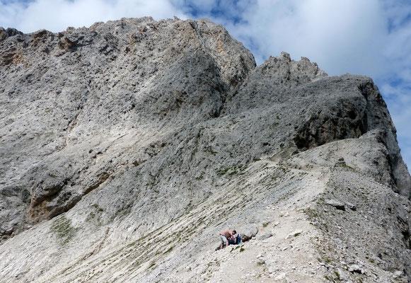 Auf der Saliëries-Scharte - 2700 M