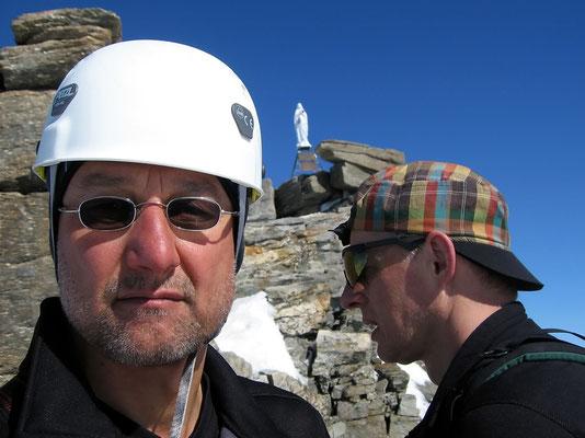 HP & Franz am Gipfel
