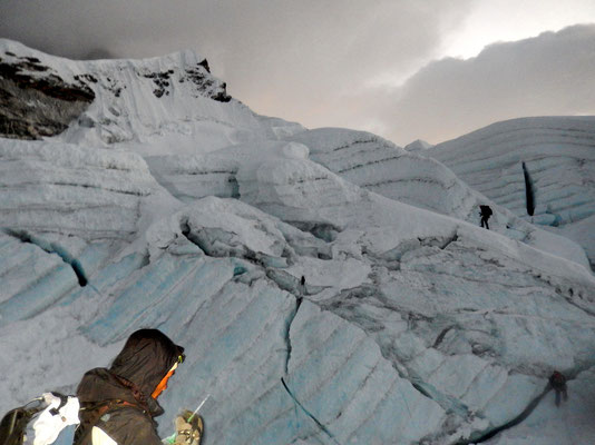 Gletscherzustieg - 5800 M