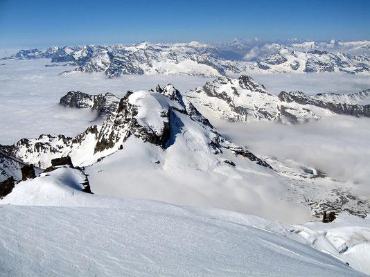 Gipfelblick nach Süden