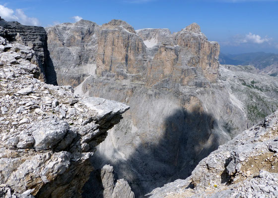 Zehner über dem Val de Mesdì