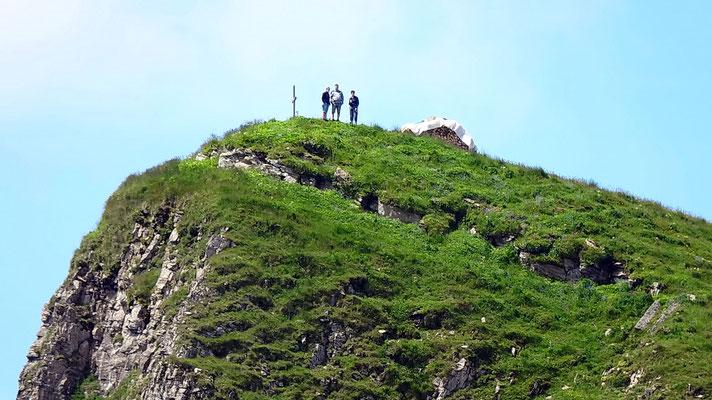 Gipfelblick: Schibenstoll - 2236 M