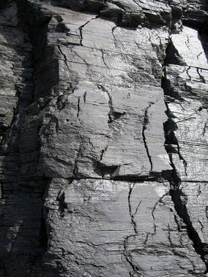 Kalk auf Gneis