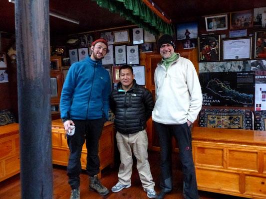Chris - Apa Sherpa's Bruder - Hans