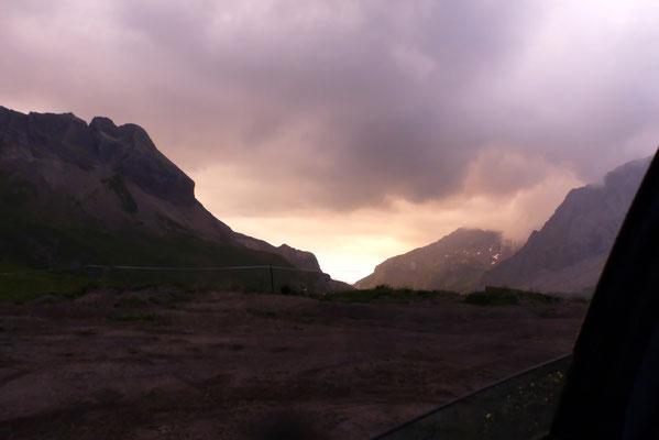 Morgenstimmung am Col du Sanetsch, 2252 M