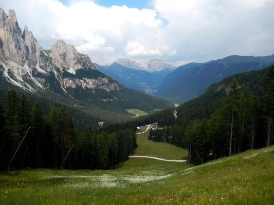 Val di Fassa vor Sellastock