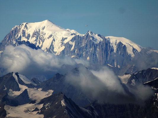 Gipfelblick zum Mont Blanc