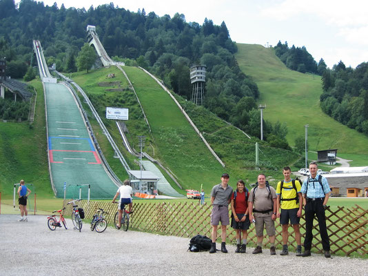 Olympiastadion Garmisch - 707 M