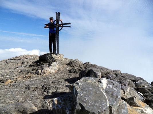 Persönliches Gipfelbild - 2928 M