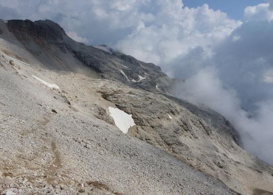 Blick zur Eisseespitze - 3009 M