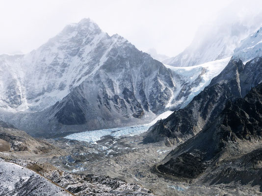 Gipfelblick - Changtse - LoLa-Pass