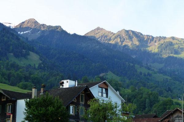 Wandelen-Bergkette