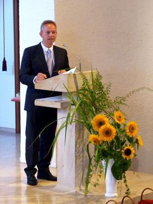 Ansprache des Bürgermeisters Armin Hinterseh