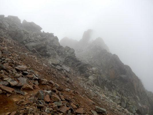 Aufstieg zur Fourcla Albana - 2870 M