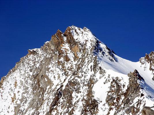 Nadelhorn - Gipfelaufbau