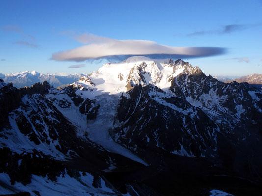 Nordföhnlinsen über Mont Vélan