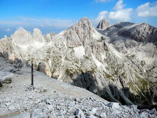 Gipfelblick - Vajolettürme - Cima Scalieret - Kesselkogel