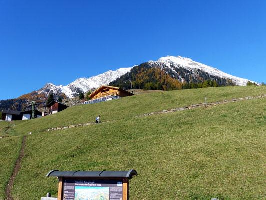 Blick vom Giggelberg Richtung Zielspitze - 3006 M