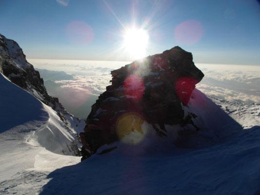 Parrotspitze - Gipfelgrat Ost-Felsriegel