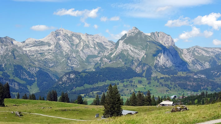 Alpsteinmassiv - von der Sellamatt-Alpe