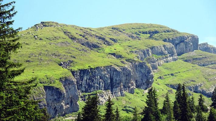 Westseitige Felsgalerie