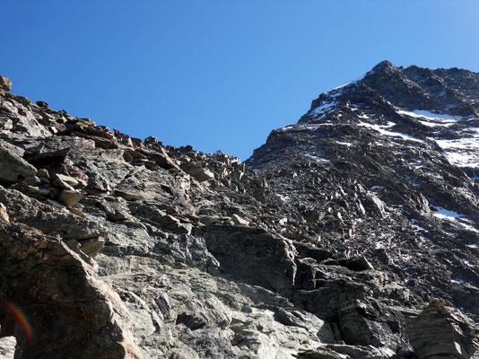 Lagginhorn-Gipfelgrat
