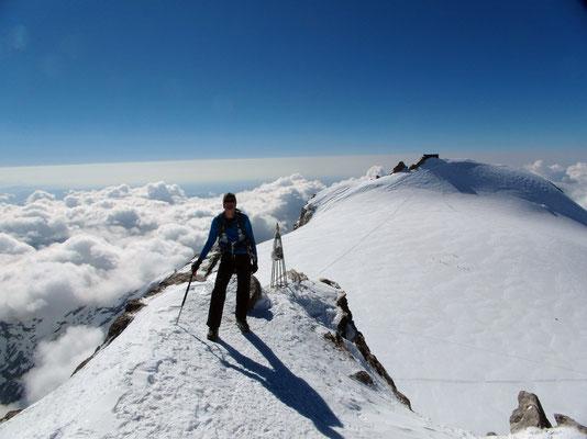 Zumsteinspitze - Persönliches Gipfelbild