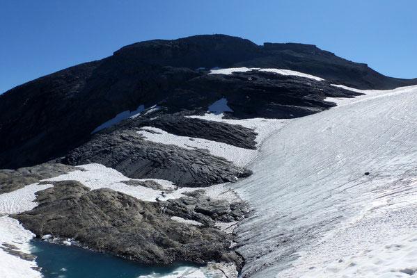 Untere Gletscherkante