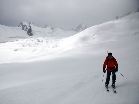 Vallée Blanche - 20 KM Abfahrt
