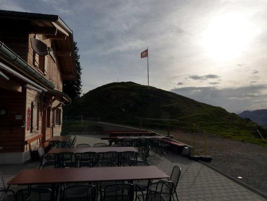 Berggasthaus und Gipfel der Halsegg - 1320 M