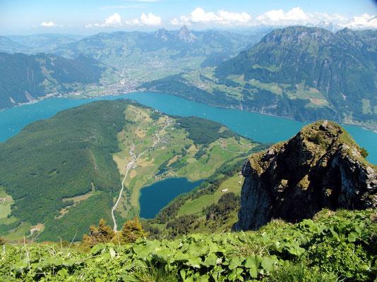 Gipfelblick - NBK nach Ost